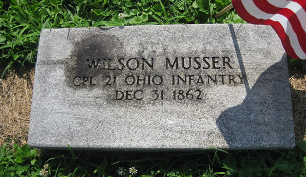Gallia County Cemetery Records Morgan Musser