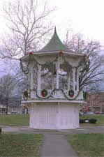 Bandstand at Christmas